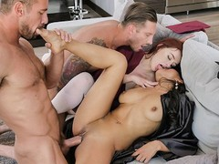 Daughterswap- orgy after graduation, Orgy, Brunette, Pornstar, Red Head, Small Tits, College, School movies at freekiloclips.com