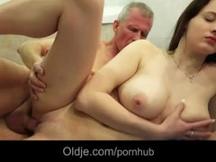Big breasted teeager girl tease old man to fuck her horny wetty, Babe, Big Tits, Brunette, Hardcore, Pornstar, Teen (18+), Popular With Women, Old/Young tubes