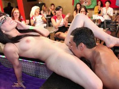 Dancing bear - group of horny women taking dick from male strippers videos