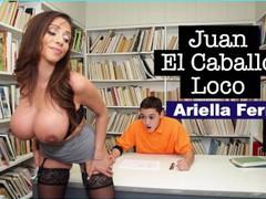 Bangbros - milf teacher ariella ferrera helps young juan el caballo loco, Big Tits, Brunette, Hardcore, Latina, MILF, Pornstar, Reality, School movies at freekiloclips.com