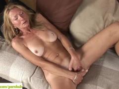 Older cougar pam roberts fingers twat, Masturbation, Mature, Striptease videos