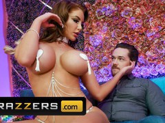 Brazzers - curvy brunette bombshell nicolette shea gives a private peep show and a sultry lap dance, Big Ass, Big Tits, Brunette, Hardcore, MILF, Pornstar videos