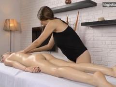 Cute blonde lizka gets her pussy massaged movies at freekiloclips.com