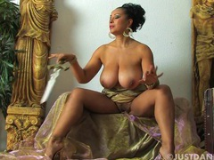 Solo video of busty danica collins playing with her wet cunt, Solo Models, Masturbation, Pornstars, MILF, Brunettes, Big Tits, Natural Tits, British movies at freekilomovies.com