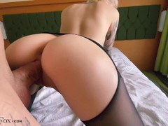Babe in pantyhose pussy licking, hard doggy sex and blowjob with cum on tit, Big Ass, Babe, Big Dick, Blowjob, Cumshot, Rough Sex, Pussy Licking, Verified Amateurs videos