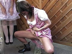 Drink a full mug of our piss!!, German, HD Videos, Dirndl, Pissing, Pee, Piss, Piss Drinking, Piss Drink, Pissing in Public, Girls Peeing, Women Pissing, Hot Girls Peeing movies at freekiloclips.com