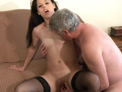 Gentle fucking ends with cum on tits for amateur chick trinity, Solo Models, Masturbation, British, Brunettes, Long Hair, Lingerie, Stockings, Nylon, Blowjob, Handjob, Pussy Licking, Small Tits, Pussy, Shaved Pussy, Cowgirl, Doggystyle movies at freekilomovies.com