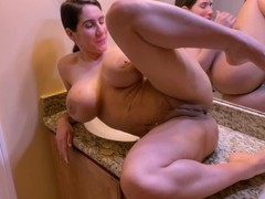 Real amateur wife wants to know how deep the dick can go inside her asshole., Amateur, Big Tits, Brunette, MILF, Anal, Rough Sex, 60FPS, Verified Amateurs movies
