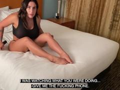 Big ass puertorican milf gets caught masturbating and turns to a fast pounding fuck, Amateur, Big Ass, Babe, Brunette, Latina, MILF, Rough Sex, 60FPS, Verified Amateurs videos