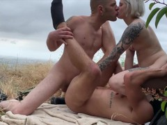 Outdoor bisexual mmf at runyon canyon with sammy knoxx & dante colle movies at find-best-pussy.com