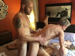 Bisexual mmf threesome with lily love & sherman maus videos