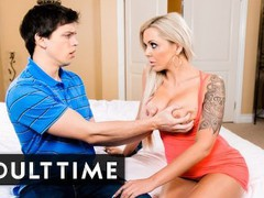 Angry wife takes it out on stepsons cock, Big Dick, Big Tits, Blonde, MILF, Pornstar, Popular With Women movies at find-best-pussy.com