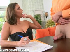 Reality kings - horny milf employer needs proof of big cock, Big Tits, Mature, MILF, Pornstar videos