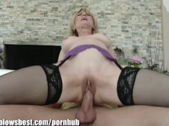 Mommybb real mature woman fucking her stepson, Big Dick, Big Tits, Blonde, MILF, Pornstar videos