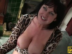 Busty mature dominated with doggystyle, Big Tits, Brunette, Hardcore, MILF, Pornstar, Rough Sex, British movies at freekiloclips.com