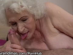 Lustygrandmas sensual granny uses hairy box to ride young dick, Big Ass, Big Tits, Blowjob, Cumshot, Hardcore, Mature, Old/Young movies at find-best-babes.com