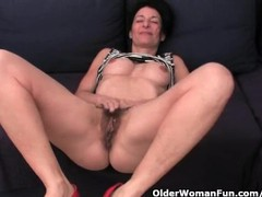 Granny hides a full bush in her soaked panties, Amateur, Masturbation, MILF movies at find-best-babes.com