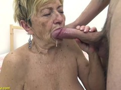 Hairy 90 years old granny banged by her toyboy, Big Dick, Blonde, Fetish, Mature, Rough Sex movies at find-best-babes.com