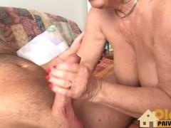 Grannie with huge tits!, Amateur, Blonde, Mature, Euro tubes