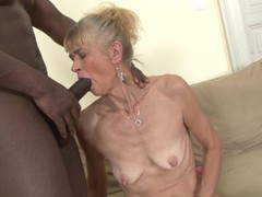 Granny fucked hard in her ass by black guy she gets creampied, Creampie, Interracial, Mature, Anal, Old/Young movies at find-best-babes.com