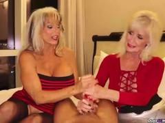 Two grannies jerking you off, Big Tits, Blonde, Handjob, Mature, Pornstar, POV, Threesome movies at find-best-babes.com