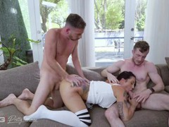 Pretty and raw - pawg lilith morningstar takes on two cocks, Big Ass, Big Dick, Big Tits, Threesome, Rough Sex, Pussy Licking tubes