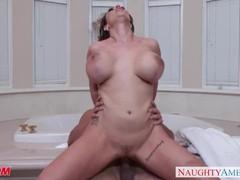 Horny mom eva notty gives titjob, Big Tits, Brunette, Hardcore, MILF, Pornstar movies at nastyadult.info