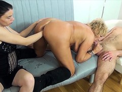 Mom fist fucked by stepsiblings, Amateur, Big Tits, Fisting, Mature, Threesome, Rough Sex, Old/Young tubes