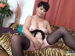 Europemature sweet mom seductive striptease, Big Tits, Brunette, Masturbation, MILF videos