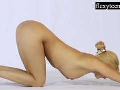 Andreykina performs gymnastics for flexyteens, Amateur, Big Tits, Blonde, Fetish, Teen (18+), Russian movies at find-best-videos.com