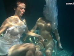 Siskina and polcharova are underwater gymnasts, Amateur, Big Tits, Blonde, Brunette, Fetish, Public, Lesbian, Teen (18+), Small Tits, Russian movies at find-best-hardcore.com