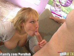Slutty milf pounded doggystyle by son-in-law, Big Tits, Blonde, MILF, Pornstar movies at kilopills.com