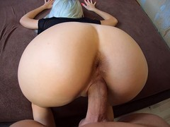 Big dick fuck me in doggystyle! sperm flows down my back!, Amateur, Big Ass, Big Dick, Blonde, Cumshot, Fetish, Teen (18+), POV, Verified Amateurs tubes