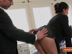 Short skirt secretary bends over to fuck, Big Tits, Blowjob, Cumshot, Handjob, Hardcore, Role Play, German movies at find-best-ass.com