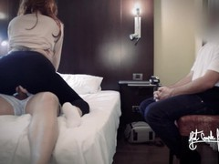 My cuckold husband cums accidentally fast after watching how i fuck his friend. yoga pants fuck, Big Ass, Creampie, Hardcore, Toys, Threesome, Exclusive, Verified Amateurs, Cuckold tubes