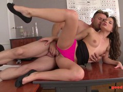 College babe anita berlusconi ass fucked by teacher and gets anal creampie, Brunette, Blowjob, Hardcore, Anal, Teen (18+), Small Tits movies at kilopills.com