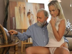 Old4k. shanie has a crush on her grey-bearded geography teacher, Blonde, Fetish, Teen (18+), Small Tits, Czech, Old/Young tubes