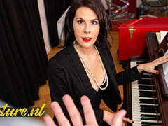 French piano teacher fucked in her ass by monster cock, Big Dick, Hardcore, MILF, Anal, Small Tits, Rough Sex, French movies at kilopills.com