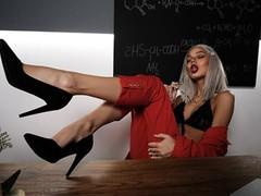super hot blonde teacher sucks friend's son , Blonde, Blowjob, Cumshot, MILF, Teen (18+), POV, 60FPS, Exclusive, Verified Amateurs movies at kilopills.com