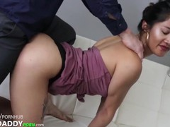 Tight asian student tina needed help with school funding, Asian, Amateur, Big Dick, Blowjob, Cumshot, Teen (18+), College, 60FPS tubes