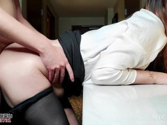 Horny secretary serving her boss ended up not having enough - nicolove, Asian, Blowjob, Cumshot, Hardcore, POV, Role Play, Exclusive, Verified Amateurs movies at kilomatures.com