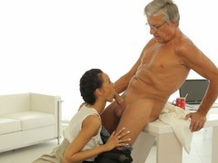 Old4k. old boss penetrates tanned secretary in several sex positions, Brunette, Blowjob, Teen (18+), Small Tits, Czech, Old/Young movies at nastyadult.info