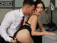 Office slut jane wilde fucked & facialed on cubicle desk - wicked, Big Dick, Brunette, Blowjob, Cumshot, Pornstar, Small Tits videos