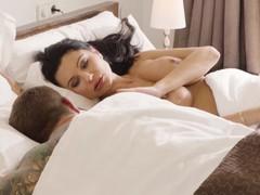 Bored wife ania kinski spices her sexlife, Big Dick, Big Tits, Blowjob, Cumshot, Masturbation, MILF, Pornstar, Pussy Licking tubes