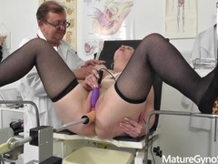 Voyeur doctor films chubby�on her gyno exam, Big Ass, Big Tits, Fetish, Toys, Mature, Role Play, Czech videos