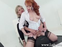 Milfs lady sonia and red xxx in hot lesbian sybian masturbation, Toys, Lesbian, Mature, Pornstar, Red Head tubes