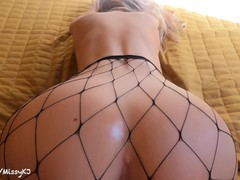 Pov perfect body babe with big tits loves getting plugged spanked and fucked in fishnets- kj, Big Ass, Babe, Big Tits, Blonde, Cumshot, Rough Sex, British, Exclusive, Verified Amateurs videos