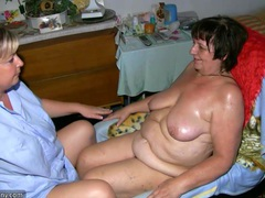 Old chubby granny has massage from bbw mature nurse movies at kilotop.com