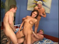 Anal banging and dp sex in gangbang porn videos