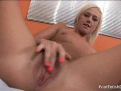 Tanned blonde in hypnotic striptease porn video videos